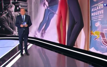 JT 13 heure Jean Pierre Pernaut reportage AALLARD Megève france2 télévision