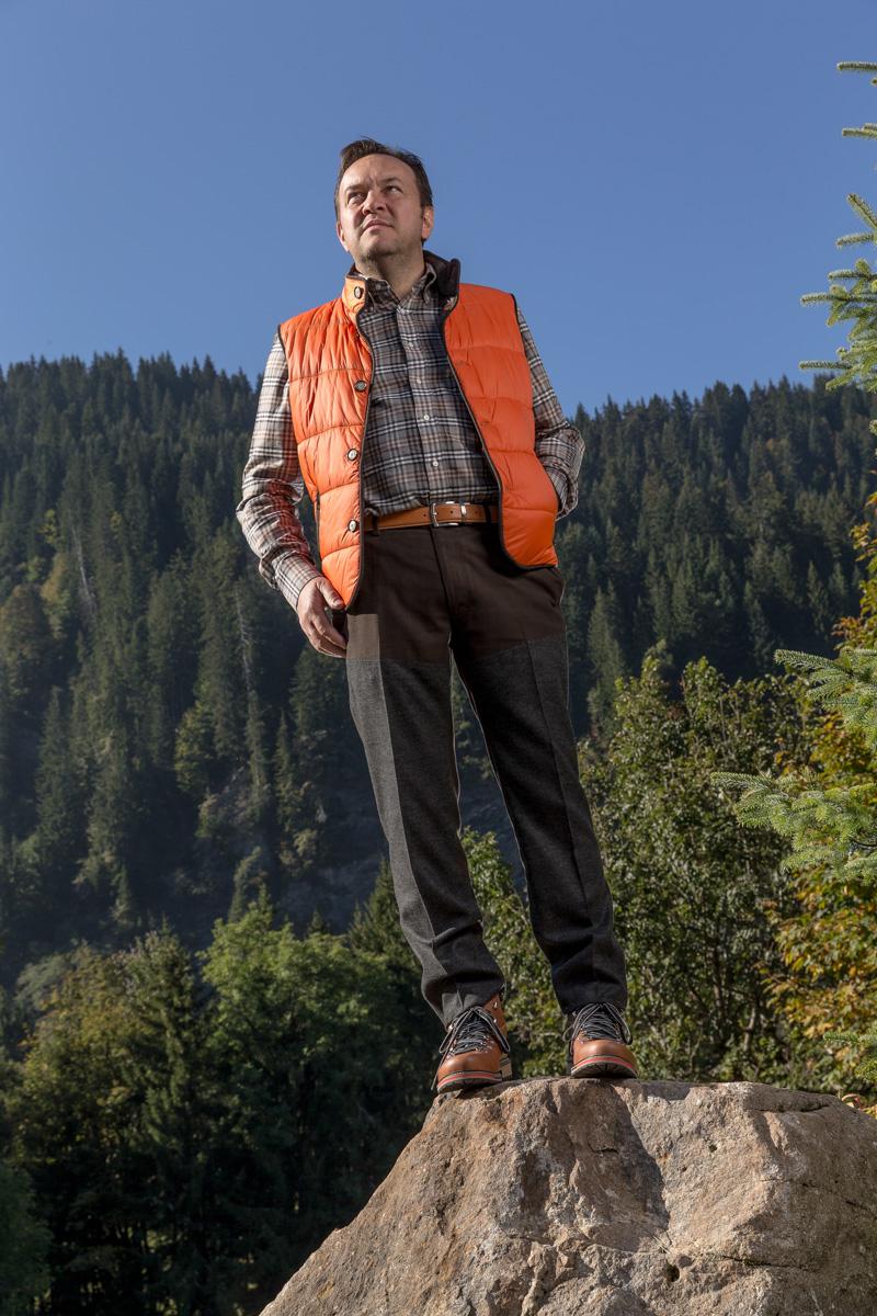 AAllard habille le Tout-Megève : Emmanuel Renaut