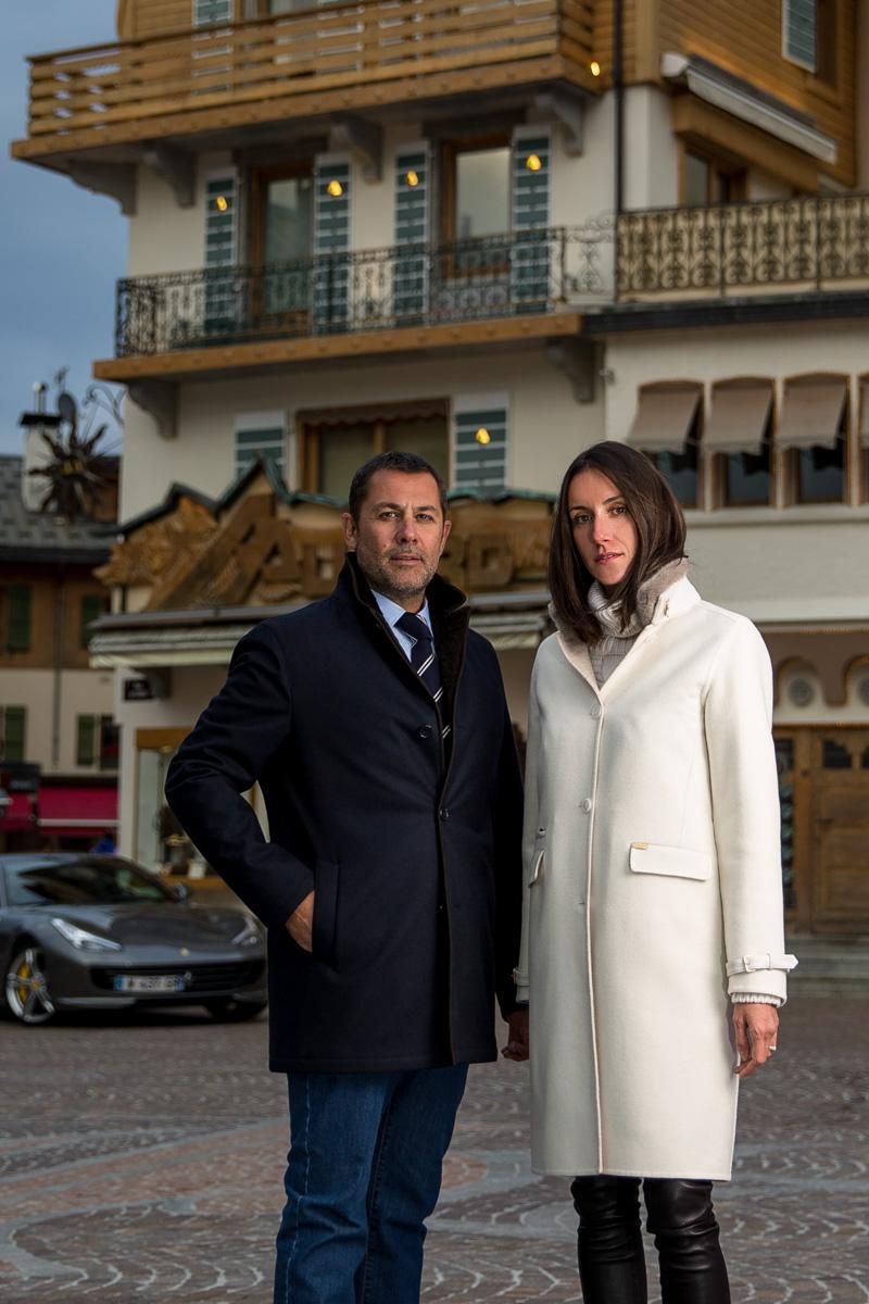 AAllard habille le Tout-Megève : Amandine et Arnaud Gauduel